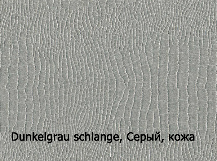 4_Dunkelgrau, Серый, кожа